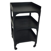 LIZZIE 3 TIER IRON SIDETABLE