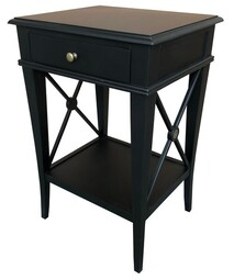 OLIVIA BLACK SIDE TABLE
