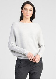 FLITCH SWEATER - LIGHT SILVER