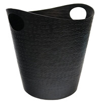 WINE BUCKET ALUMINIUM - BLACK