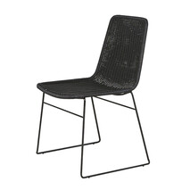 OLIVIA DINING CHAIR BLACK