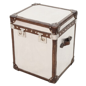 HALO LONDON TRUNK - BRUSHED STEEL