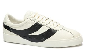 SUPERGA CLUBS - BLACK/WHITE