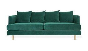 GUS MARGOT 3 SEATER VELVET SPRUCE