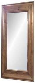 LARGE SOLID OAK MIRROR - NATURAL