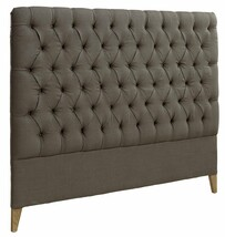 ARTWOOD LONDON HEADBOARD LINEN BROWN