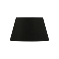 TAPERED DRUM LAMPSHADE - BLACK