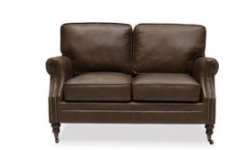 WILTSHIRE SOFA TWO SEATER - NUTMEG