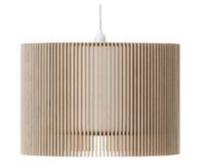 DRUM PENDANT LIGHT - VARIOUS SIZES