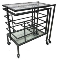 INDUSTRIAL DRINKS TROLLEY