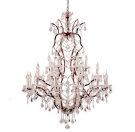HALO CRYSTAL CHANDELIER - LARGE