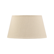 TAPERED DRUM LAMPSHADE - OATMEAL