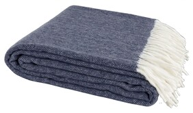 ARTWOOD ESTHER BLUE THROW