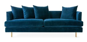 GUS MARGOT 3 SEATER VELVET MIDNIGHT