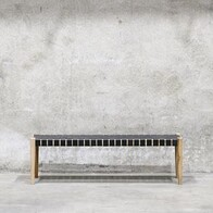 BACCO BENCH BLACK