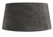 LARGE CLASSIC LAMPSHADE - GREY SUEDE