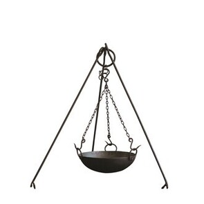FIREBOWL TRIPOD AND COOKING BOWL SET