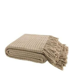 ARTWOOD CESARIO BEIGE THROW