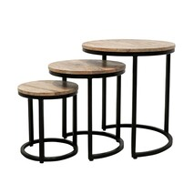 KAYSON NESTING SIDE TABLE SET