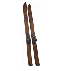 ARTWOOD SKIS - SET OF TWO