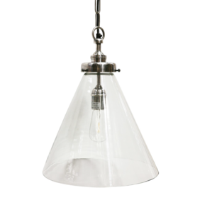 HANGING LAMP WITH BRUSHED PEWTER STYLE