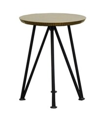 FREYA SIDE TABLE - ANTIQUE BRASS