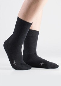 CUSHION SOLE SOCKS - BLACK
