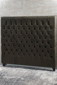 BIANCA LORENNE BETTINO WALNUT HEADBOARD