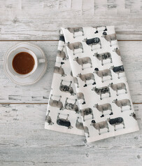 TEA TOWEL- COUNTING SHEEP