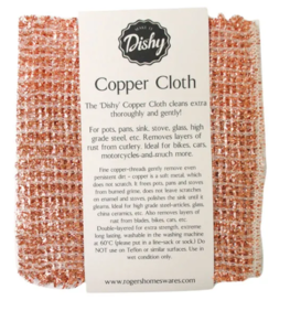 DISHY COPPER CLOTH
