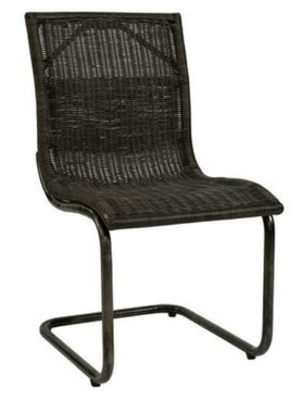 ARTWOOD ZOLA DINING CHAIR - DEEP BROWN