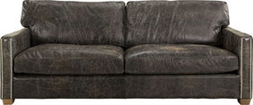 HALO VISCOUNT WILLIAM 3 SEATER -  FUDGE