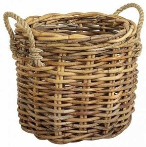 ARTWOOD BASKET PLANTER - TWO SIZES