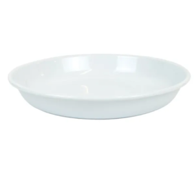 DISHY ENAMEL SHALLOW PASTA/SIDE PLATE 24CM