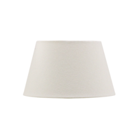 TAPERED DRUM LAMPSHADE - IVORY