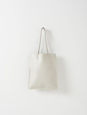 CITTA LEATHER TOTE BAG FROST