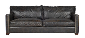 HALO VISCOUNT WILLIAM 2 SEATER - OLD GLOVE ESPRESSO