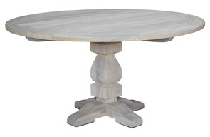 ARTWOOD VINTAGE OUTDOOR ROUND DINING TABLE