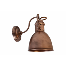 BRETAGNE WALL LIGHT DARK COPPER STYLE FINISH