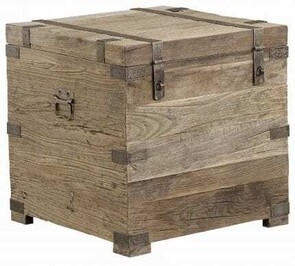 ARTWOOD ELMWOOD SQUARE CHEST - SOLID ELM