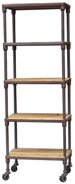 INDUSTRIAL 5 TEIR SHELVING
