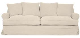 PALMER SALT & PEPPER SOFA - 2.5 SEATER