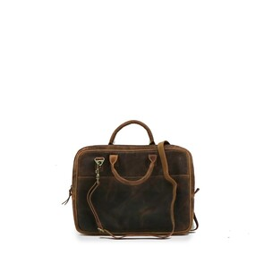 LEATHER LAPTOP BAG-FULL GRAIN LEATHER