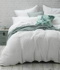 MM LINEN COTTON WAFFLE PILLOWCOVER SET