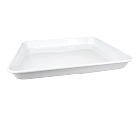 DISHY ENAMEL MED. RECTANGLE TRAY