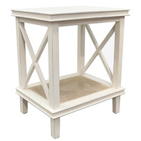 FRANKLIN SIDE TABLE - IVORY