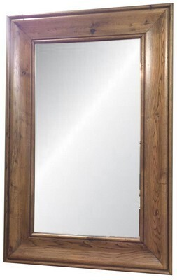 SMALL SOLID OAK MIRROR - NATURAL