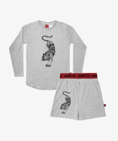 COUCHING TIGER WINTER PJ SET
