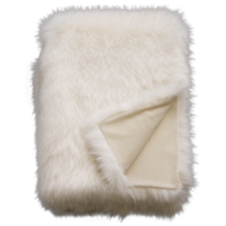 LUXURY FAUX FUR THROW - NORWEGIAN FOX