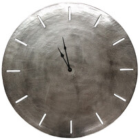 GENEVA CLOCK 73CM - NICKEL